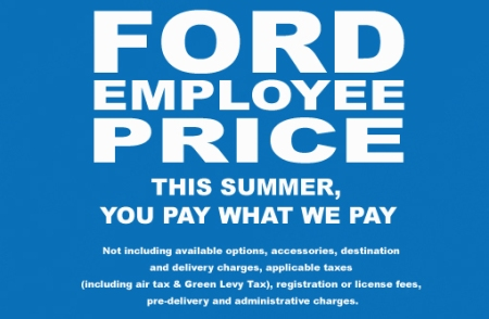 Ford EmployeePrice-Detail